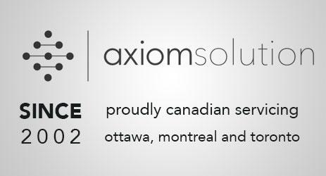 Since 2002. Axiom Solutions